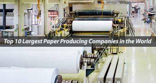 تولید کننده کاغذ در جهان