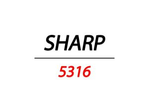 تونر شارپ ar 5316